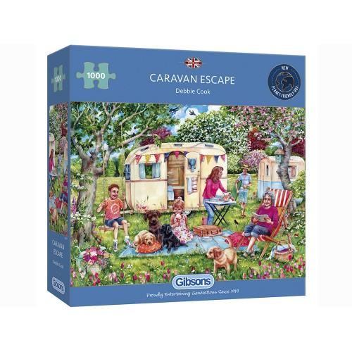 Caravan Escape 1000pc Puzzle