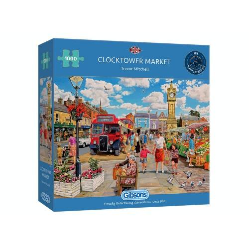 Clocktower Market 1000pc...