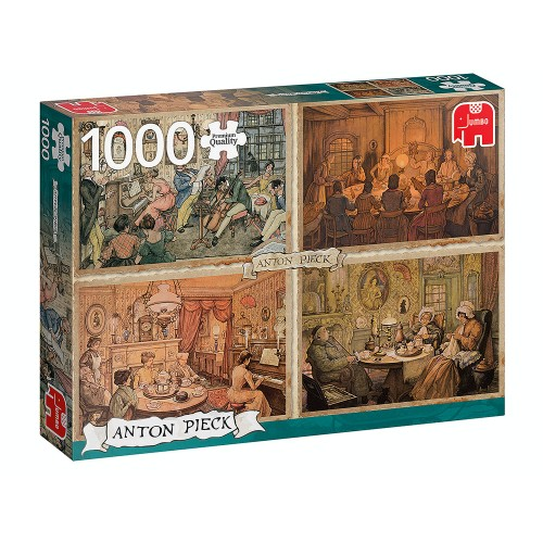 Anton Pieck Living Room...