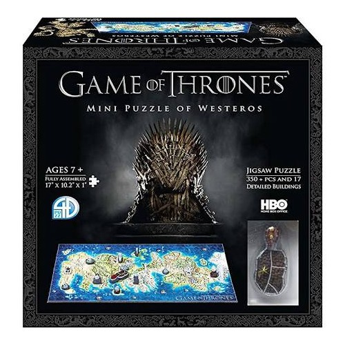 Game of Thrones Mini Puzzle of Westeros