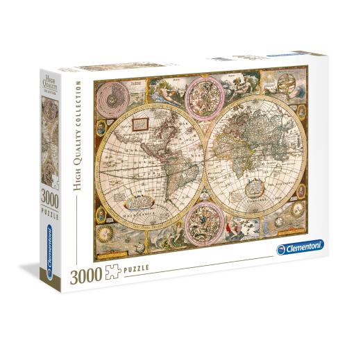 World Map Clementoni 3000pc...