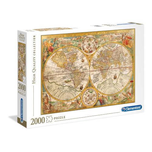 Ancient Map Clementoni...