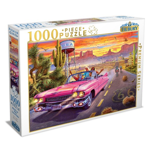 Route 66 Pink Convertible -...