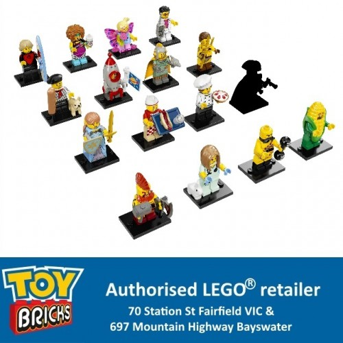 LEGO® Minifigures Series 17 Complete set of 16