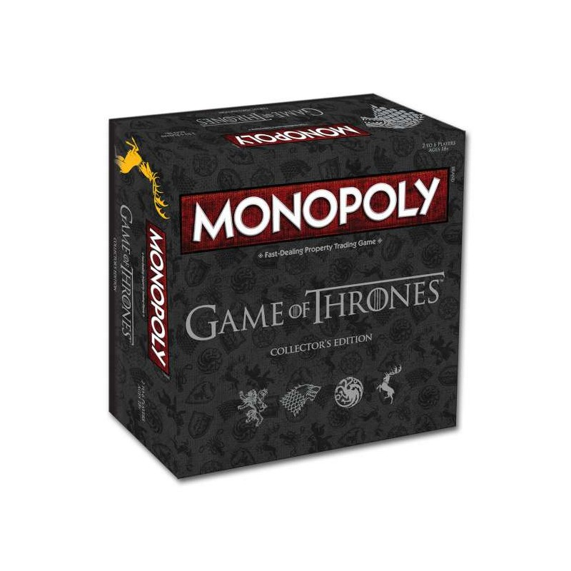 Game of Thrones Monopoly Collectors Edition