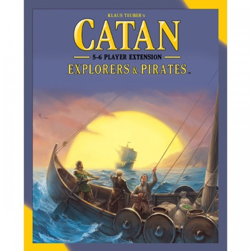 Catan Explorers & Pirates 5-6 player expansion