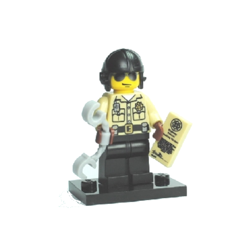 Traffic Cop - LEGO Series 2 Collectible Minifigure