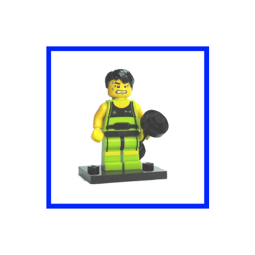 Weightlifter - LEGO Series 2 Collectible Minifigure