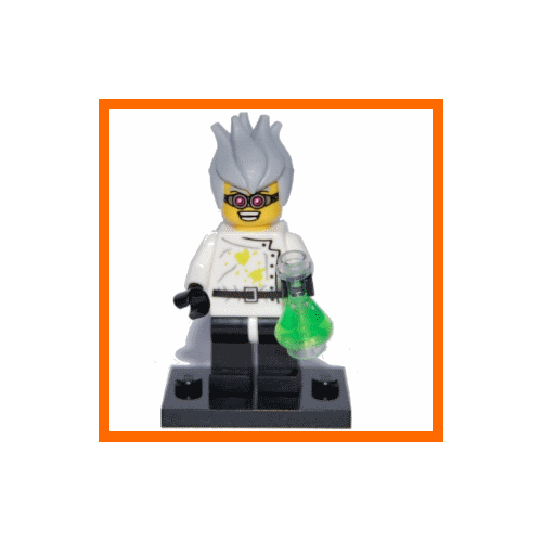 Crazy Scientist - LEGO Series 4 Collectible Minifigure