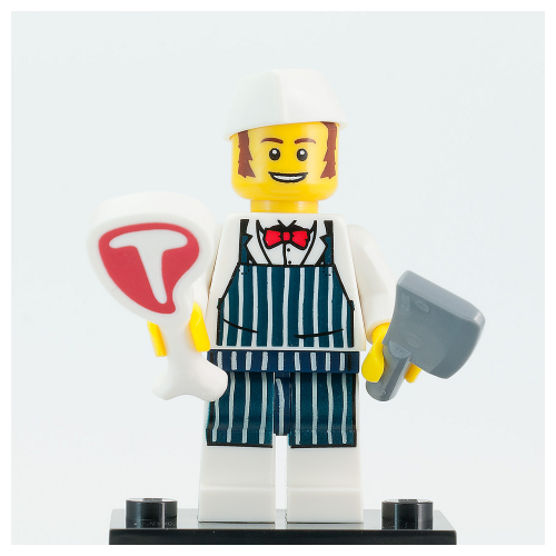 Butcher - LEGO Series 6 Collectible Minifigure