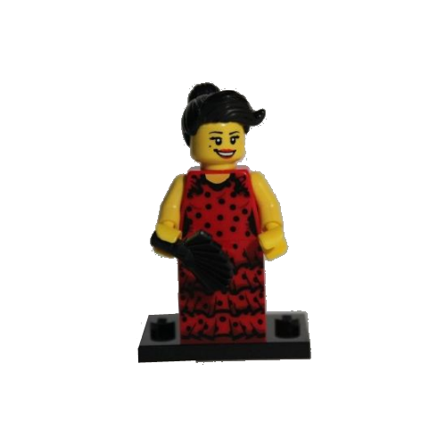 Flamenco Dancer - LEGO Series 6 Collectible Minifigure