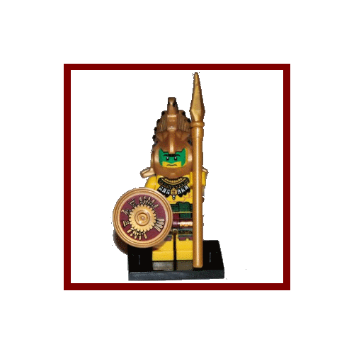 Aztec Warrior - LEGO Series 7 Collectible Minifigure