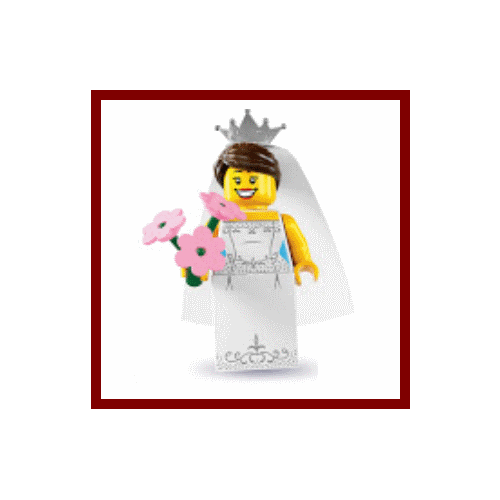 Bride - LEGO Series 7 Collectible Minifigure