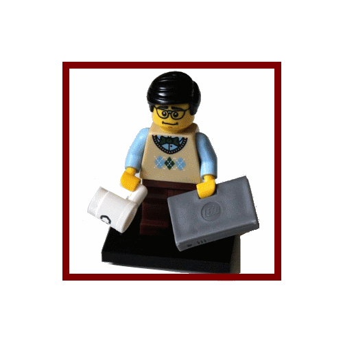 Computer Programmer - LEGO Series 7 Collectible Minifigure