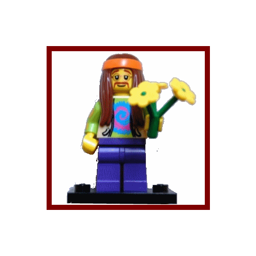 Hippie - LEGO Series 7 Collectible Minifigure