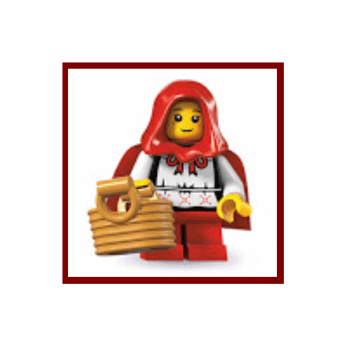 Red Riding Hood - LEGO Series 7 Collectible Minifigure