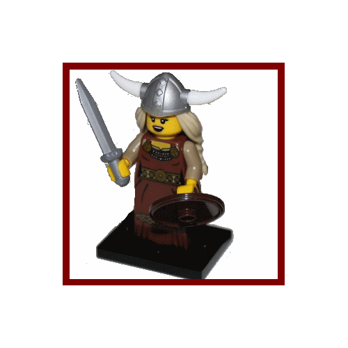 Viking Woman - LEGO Series 7 Collectible Minifigure