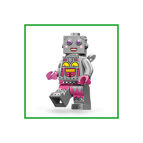 Lady Robot - LEGO Series 11 Collectible Minifigure