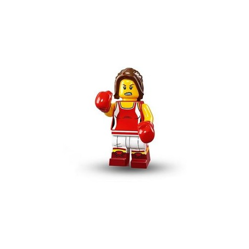 Kickboxer Girl - LEGO Series 16 Collectible Minifigure