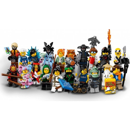 LEGO Ninjago Movie Minifigures - Set of 20