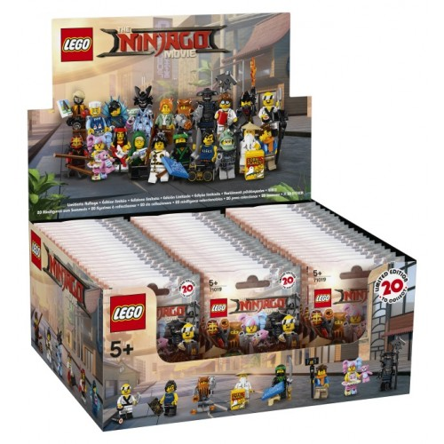 LEGO Ninjago Movie Minifigures - Sealed Box of 60