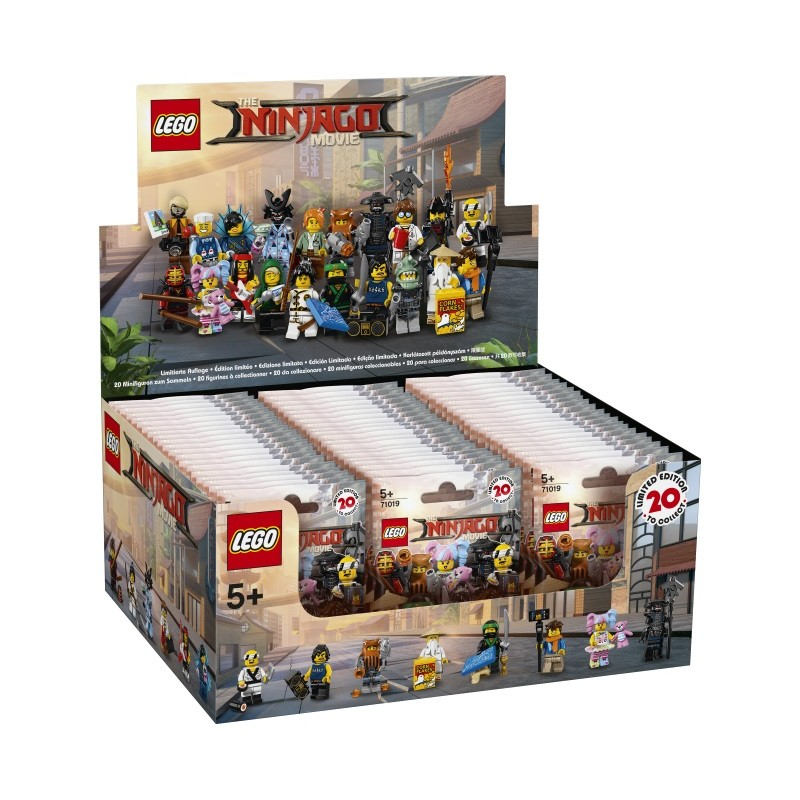 LEGO Ninjago Movie Minifigures - Sealed Box of 60