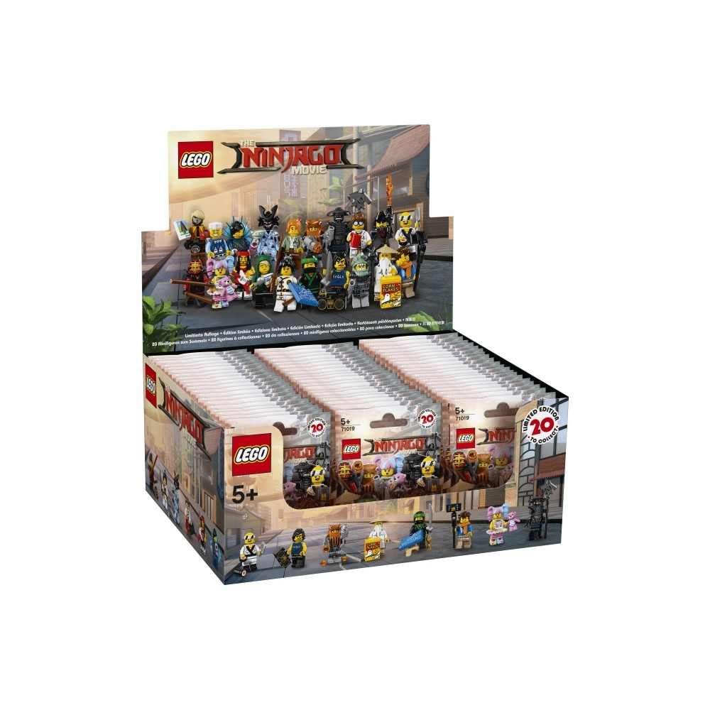 Lego Ninjago Movie Minifigures Sealed Box Of 60 Toybricks