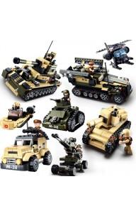 Sluban Military Kits